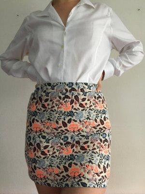 Promod High Waist Skirt multicolored polyester