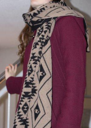 gemusterter Schal aus Boutique