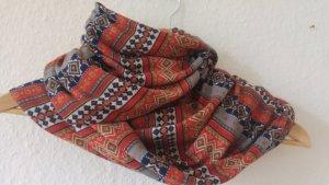 Bufanda tubo multicolor Algodón