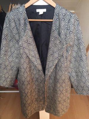 H&M Wool Coat pale blue-black