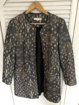 H&M Between-Seasons-Coat multicolored