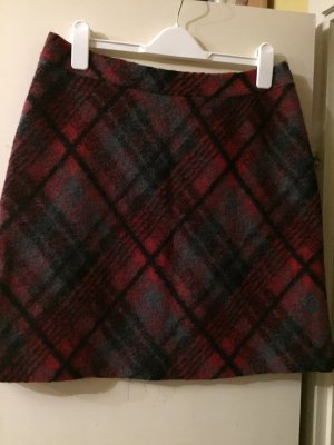 s.Oliver Wool Skirt multicolored wool