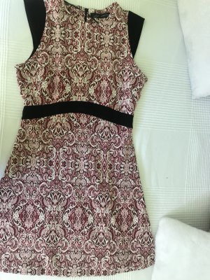 Zara Mini vestido multicolor
