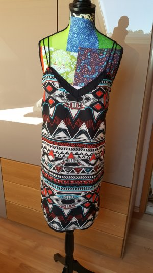 gemustertes Kleid
