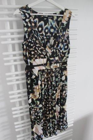 Jean Paul Berlin Robe trapèze multicolore viscose