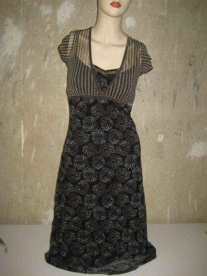 Gemustertes Kleid von Mexx, kurze Ärmel