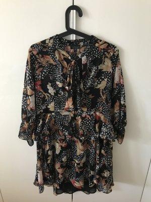 Gemustertes Kleid von Topshop