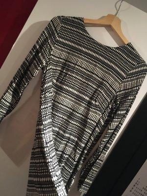 H&M Robe Hippie noir-blanc