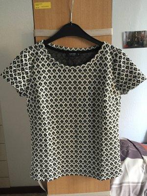 Gemustertes Kurzarm-Shirt