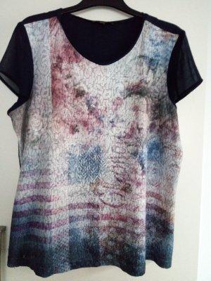 Gemustertes Kurzarm-Shirt von Bonita Gr.40