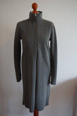 Zara Lang shirt wit-zwart Polyester