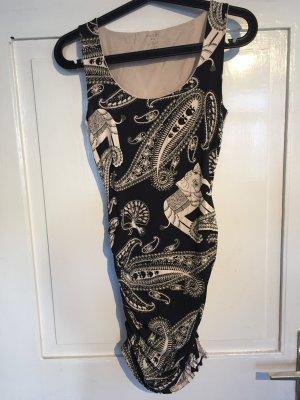 Gemustertes Mini Kleid