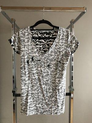 Guess Camiseta negro-blanco