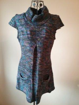 Vestito di lana petrolio