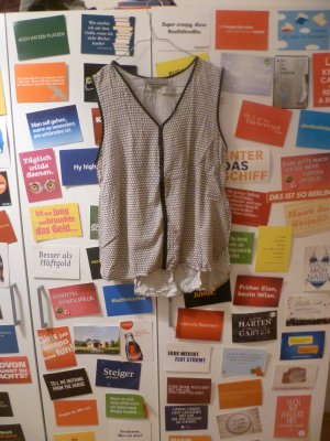 Vero Moda Mouwloze blouse veelkleurig