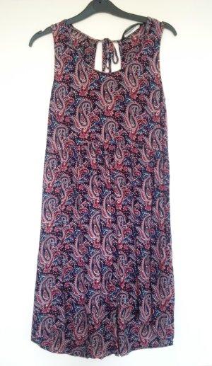gemustertes Zara Kleid mit Rückenausschnitt in Größe S