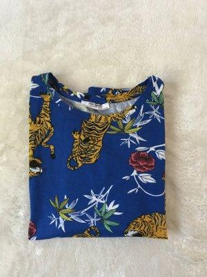 Gemustertes Zara T-Shirt, sehr guter Zustand, Größe 34/XS