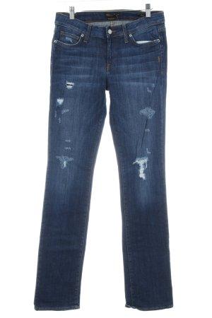 Genetic denim Straight-Leg Jeans dunkelblau Casual-Look