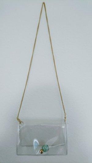 Intimissimi Minibolso blanco-color oro Material sintético