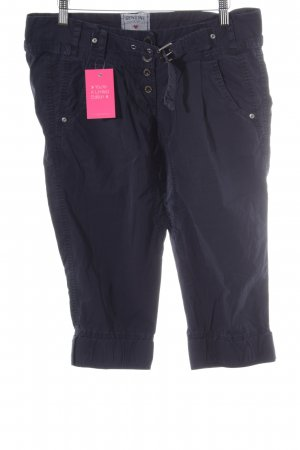 Genuine Pantalone Capri blu stile casual