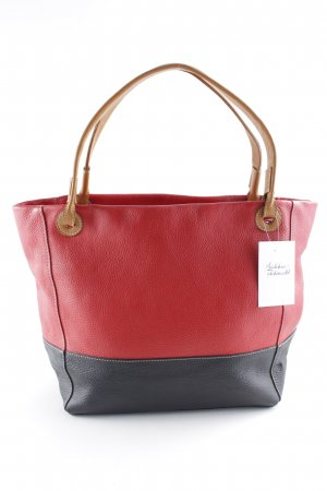 Genuine Leather Henkeltasche mehrfarbig Casual-Look