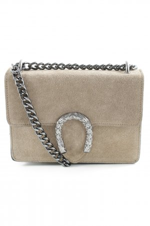 Genuine Leather Minitasche hellbraun Casual-Look