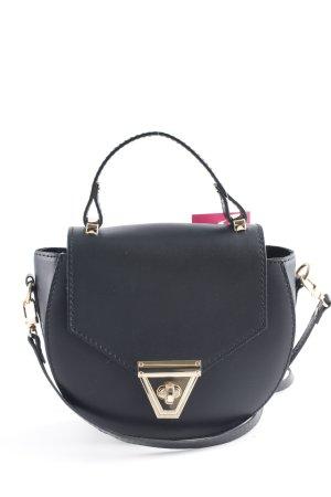 Genuine Leather Minitasche schwarz Casual-Look