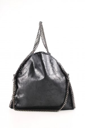 Genuine Leather Shopper schwarz Casual-Look