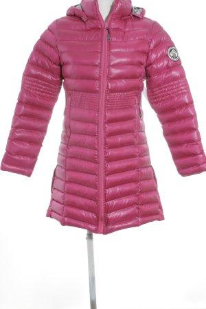 Geographical Norway Daunenmantel pink-grau schlichter Stil