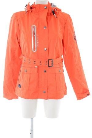 Geographical Norway Outdoor Jacket light orange casual look