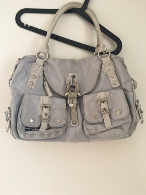 George Gina & Lucy Bolso gris claro-color plata