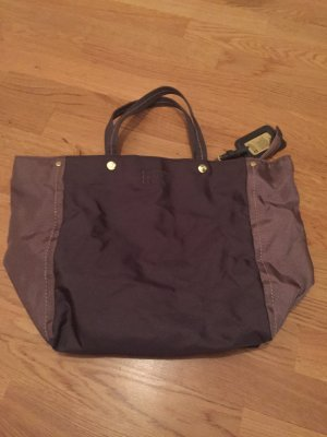 George Gina & Lucy Shopper mauve-grey lilac