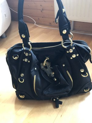 George Gina & Lucy Shopper black-gold-colored