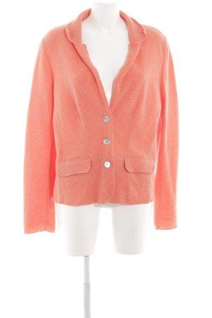 Georg Maier Knitted Blazer light orange extravagant style