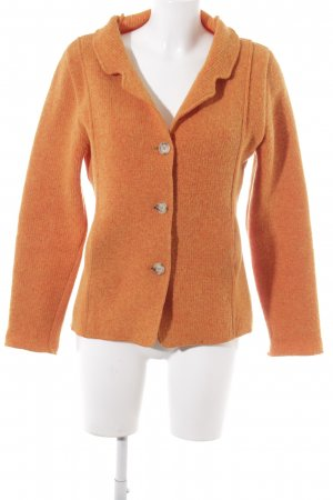 Georg Maier Traditional Jacket dark orange-light orange flecked casual look