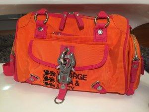 George Gina & Lucy Bolso naranja neón