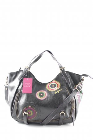 Desigual Beuteltasche florales Muster Casual-Look
