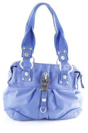 George Gina & Lucy Bowlingtasche blau-silberfarben Casual-Look