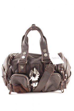 George Gina & Lucy Bowlingtasche schwarzbraun Casual-Look