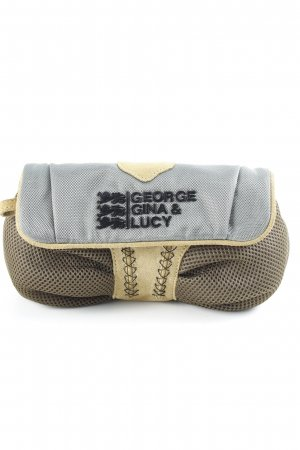 George Gina & Lucy Clutch khaki-olive green extravagant style