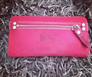 George Gina & Lucy Wallet neon red-red