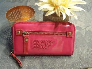 George Gina & Lucy Portemonnee roze-magenta