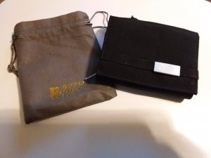 George Gina & Lucy Wallet black polyester