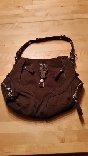 George Gina & Lucy Carry Bag dark brown mixture fibre