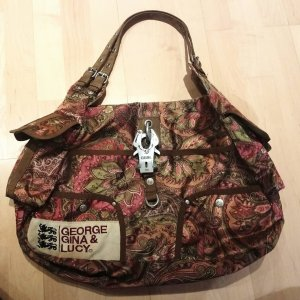 George Gina & Lucy Handbag multicolored synthetic