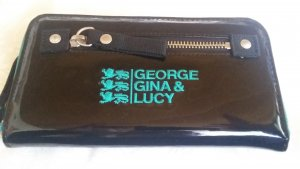 George Gina & Lucy Wallet multicolored imitation leather