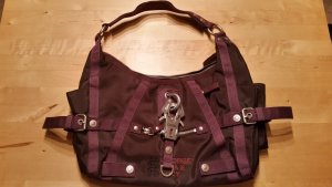 George Gina & Lucy Carry Bag dark violet mixture fibre