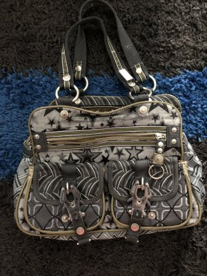 George Gina & Lucy Bolso color plata-gris