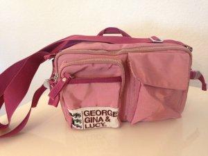 GEORGE GINA & LUCY Handtasche LUNCHBOX Schultertasche Damentasche pink rosa