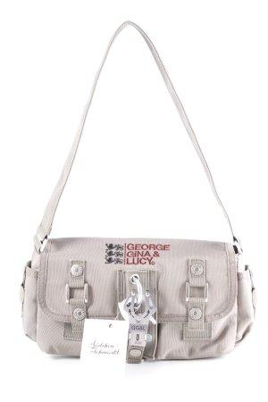 George Gina & Lucy Handtasche mehrfarbig aufgesetzte Taschen außen